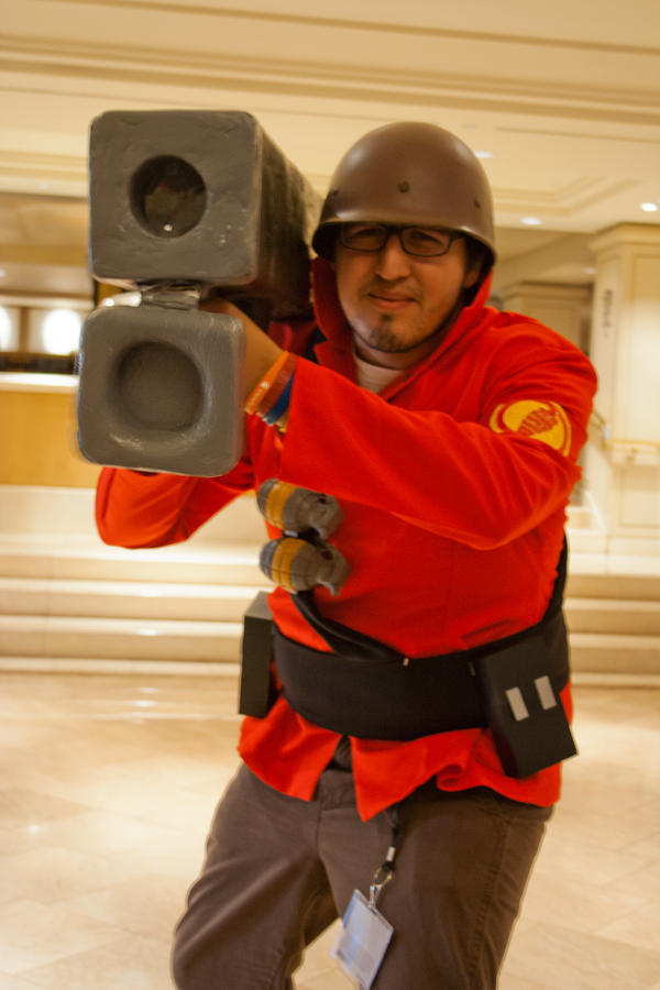 Team Fortress 2 Soldier by EriTesPhoto