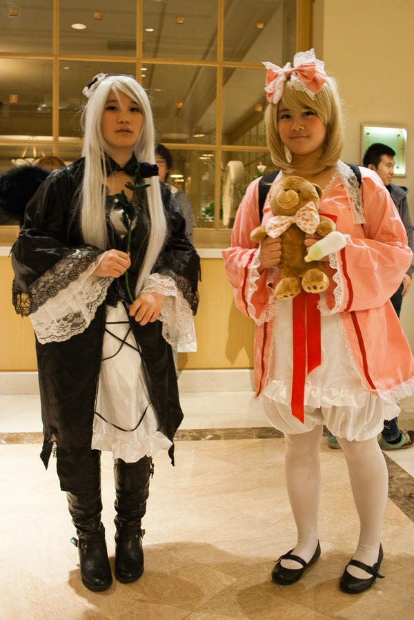Suigintou and Hinaichigo! by EriTesPhoto