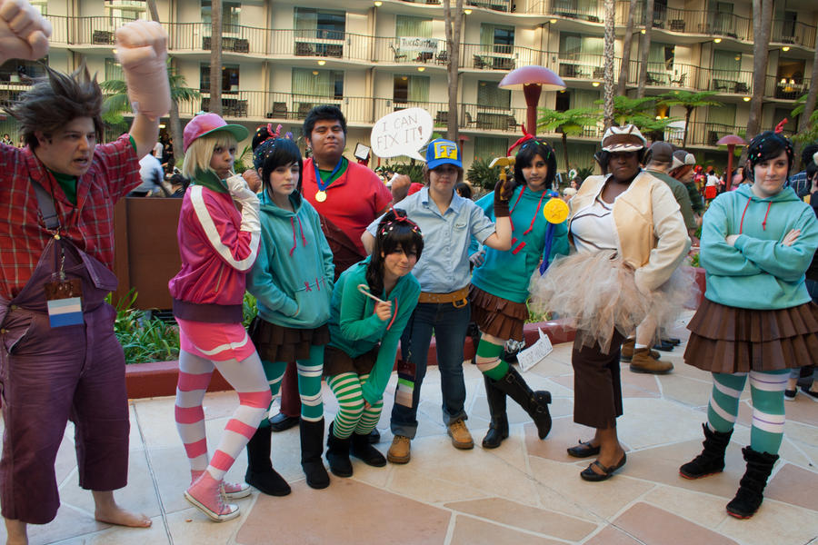 wreck it ralph character costumes Car Pictures