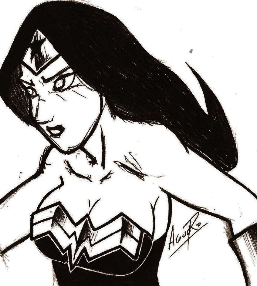 wonder woman by maximo22