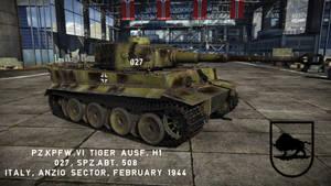[War Thunder Skin] Pz.Kpfw VI Tiger H1, 027