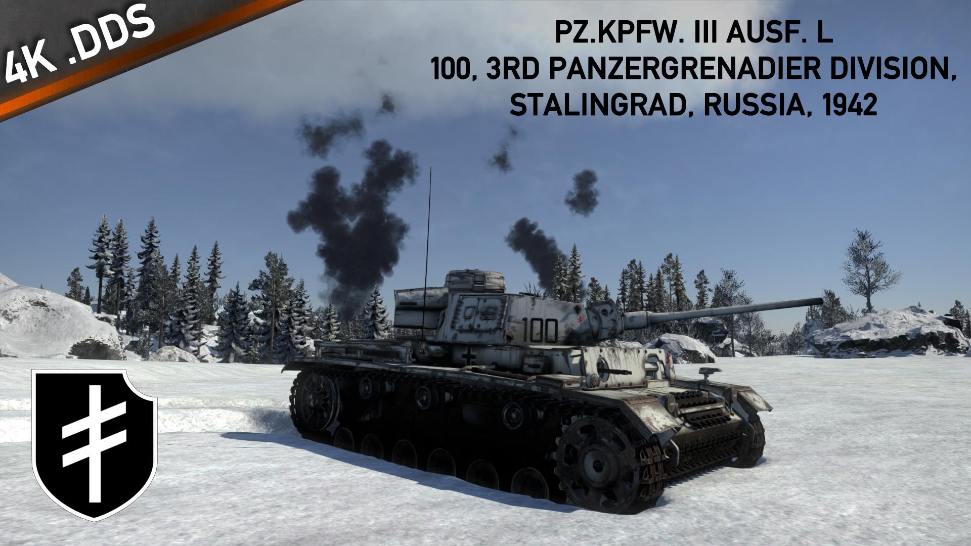 [War Thunder Skin] Pz. III Ausf. L, 100, 1942 by zFireWyvern on DeviantArt