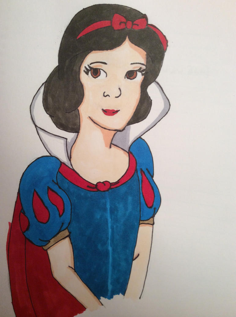 Snow White. by sara-applegate