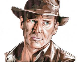 Indiana Jones by urfavoriteartist