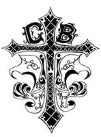 Cross tattoo commission by Navina
