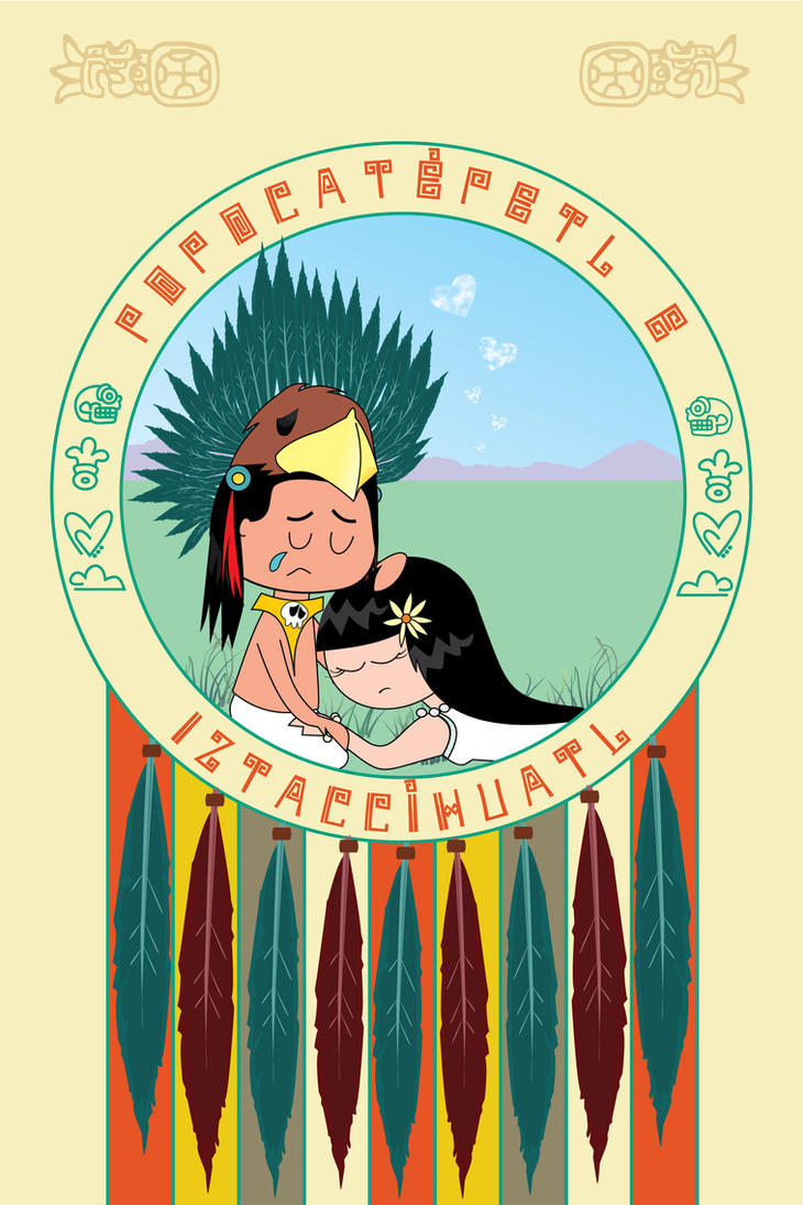Popocatepetl e Iztazihuatl by benedictbenson