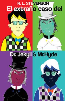 Jekyll and Hyde Pop art