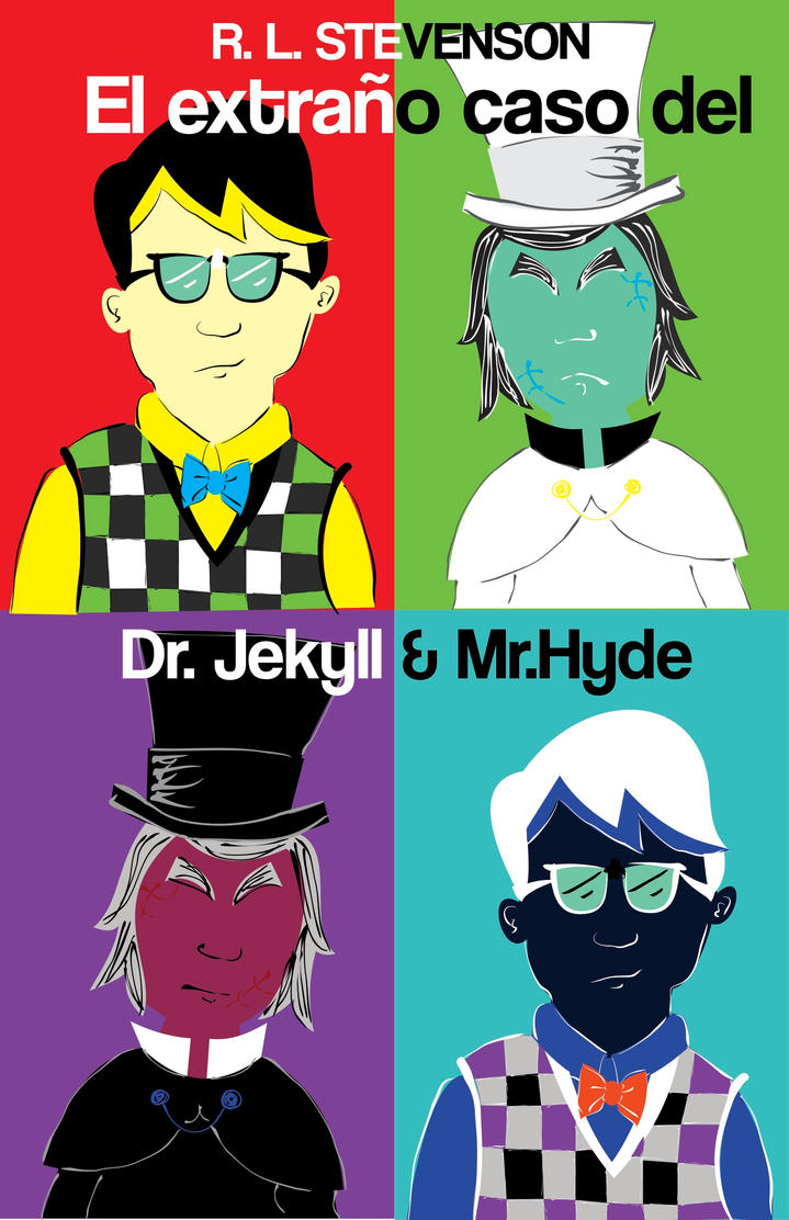 Jekyll and Hyde Pop art by benedictbenson