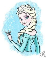 Coloring Elsa
