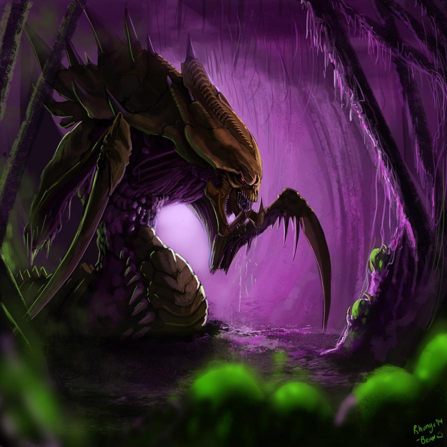 Zerg Hydralisk by Rhunyc