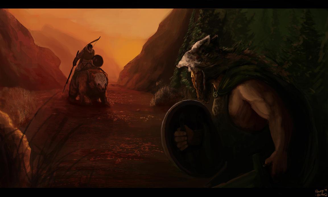 Vikings aren't sneaky by Rhunyc