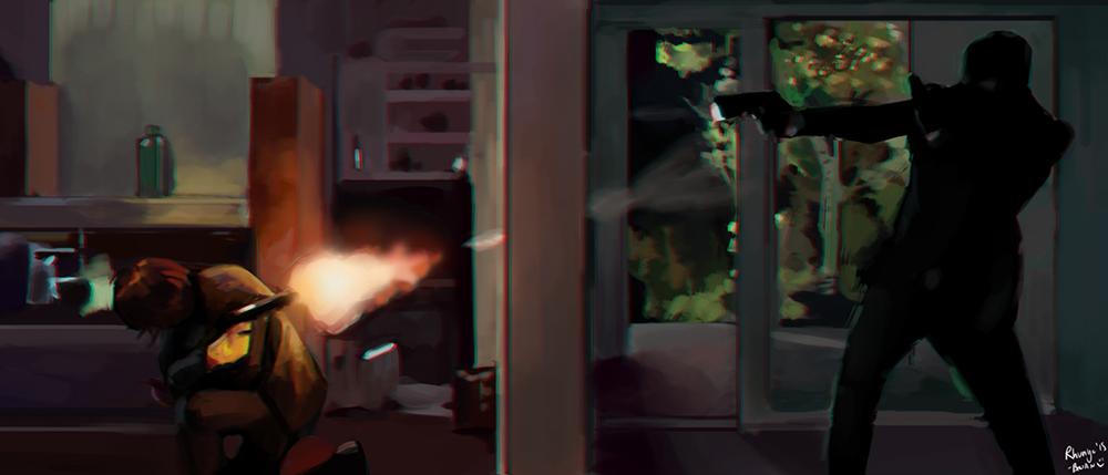 John Wick - Study by Rhunyc