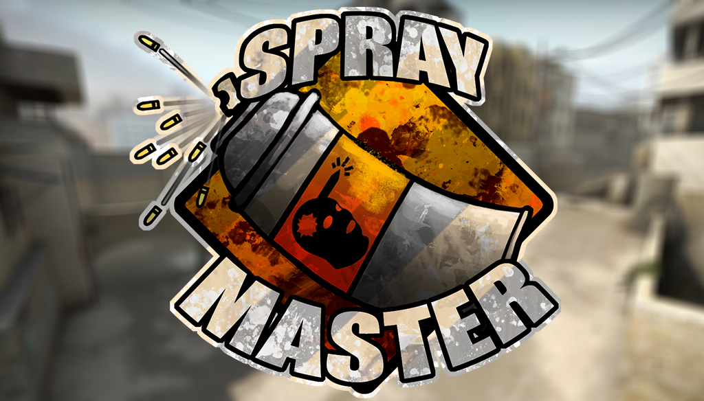 Spraymaster CS:GO sticker design by Rhunyc