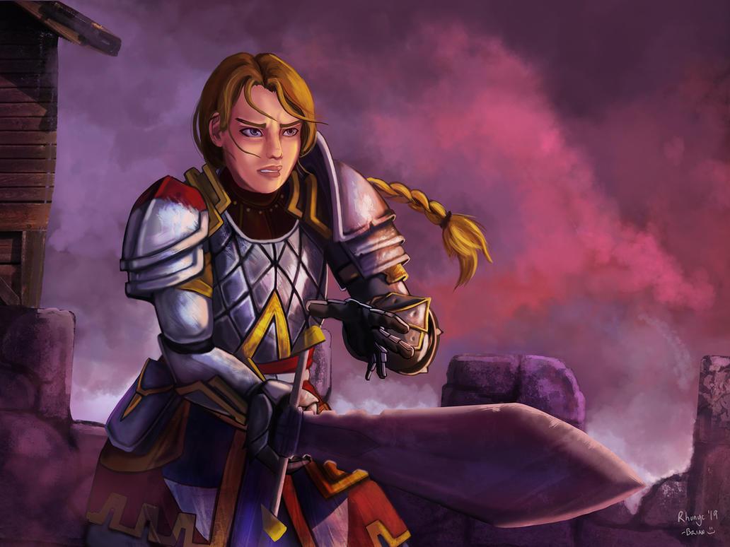 Commission: Lysandera for Cysanic5 by Rhunyc