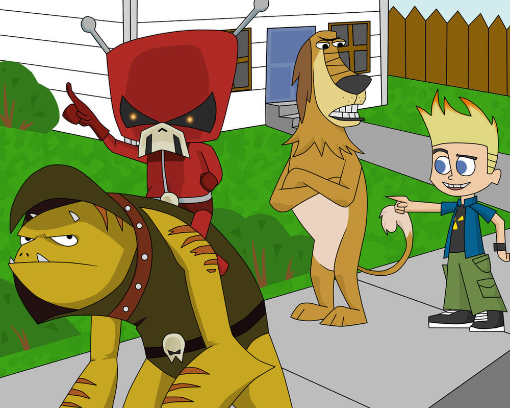League Of Super Evil And Johnny Test By Jitseen