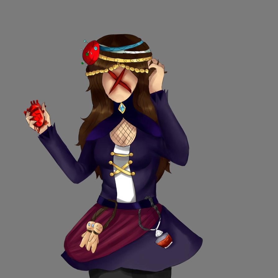 *Sketch* Persona by StrawberryKittySwirl