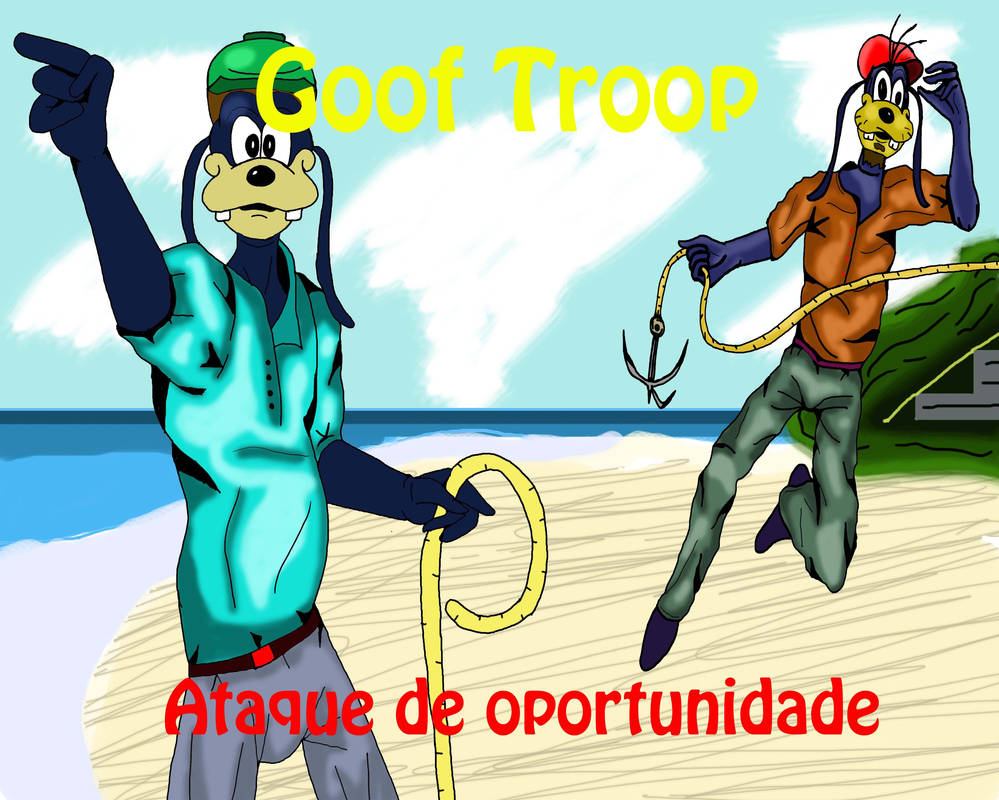 Goof Troop Ataque de oportunidade by AvalonCezarLepinski