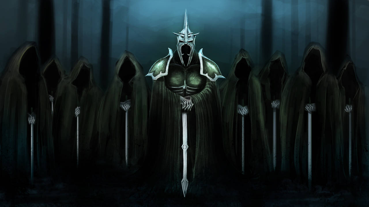 The Witch King by Wugrash