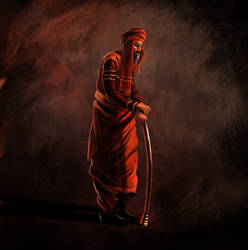 Prince of Persia Warrior Within - Old Man by Wugrash