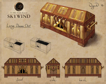 Skywind: Large Dwemer Chest