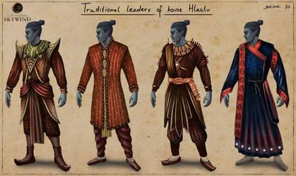 Skywind: Dunmer Garbs-Traditional Hlaalu Leaders