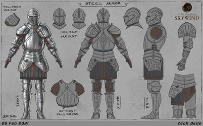 Skywind: Steel Armor