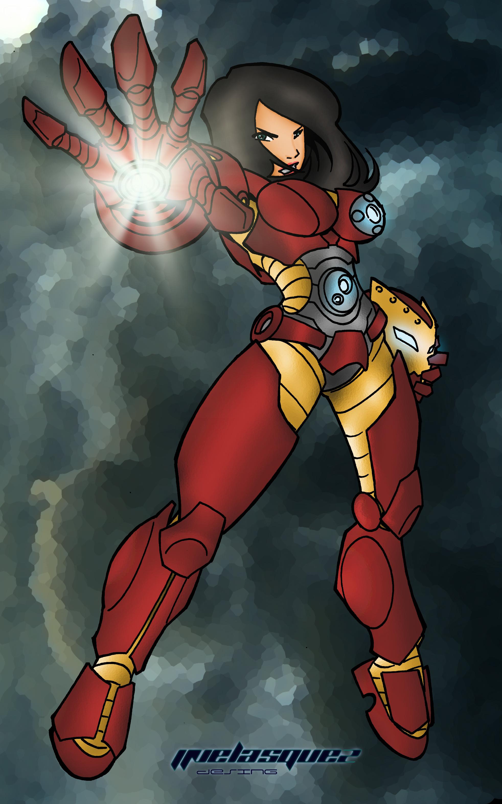Iron Woman - Kate Beckinsale | Heroic Girls