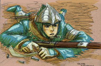 Nausicaa Sketch