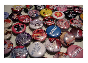 ANIME NORTH LEFTOVER BUTTONS