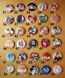 3' Buttons SPECIAL PRICE 2