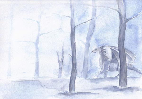 Winter Dragon by buetly