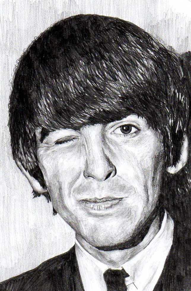 George Harrison by BonaScottina