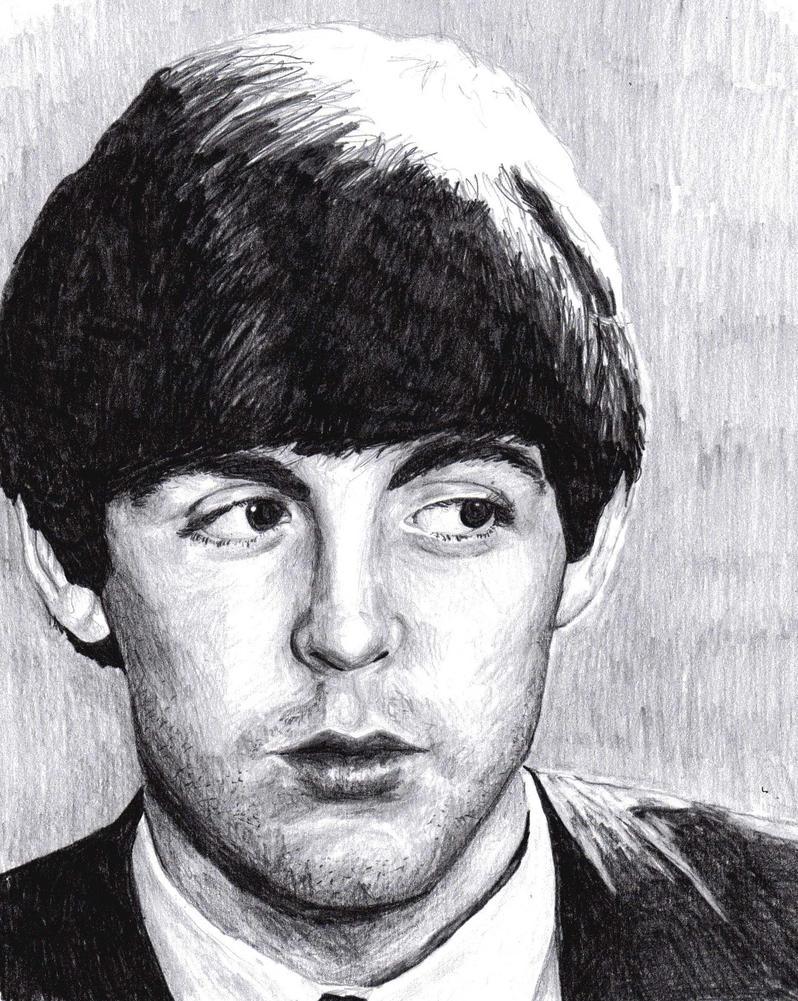 Paul McCartney By BonaScottina