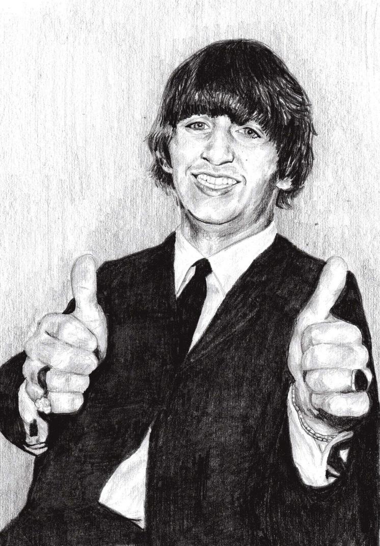Ringo Starr by BonaScottina