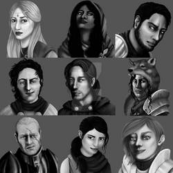 Exiled Kingdoms - Character Portraits