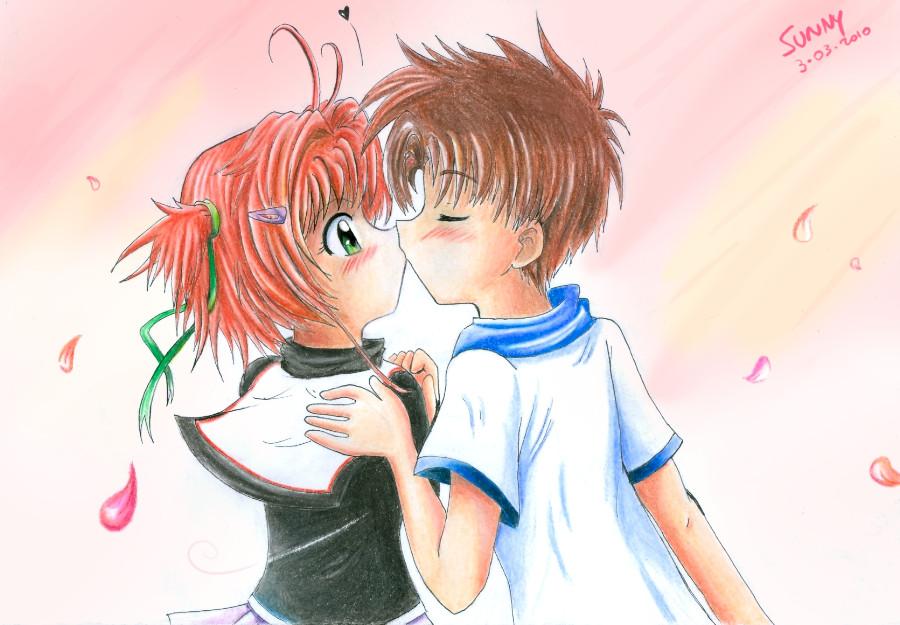 sakura kiss by sunshineikimaru on deviantart