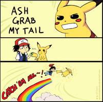 ASH GRAB MY TAIL