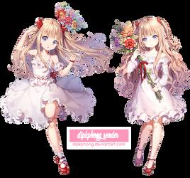 [Render] Anime Girl #6 by dipkphong