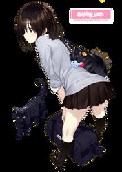 [Render] Anime Girl #9 by dipkphong