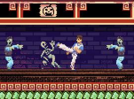 Kung Fu Man Halloween by misterpickles