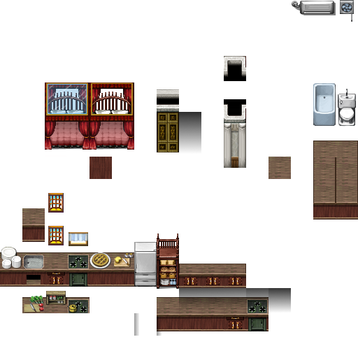 Bibliothèque des ressources VX Ace Tilesets Glass_canapy_bed_by_nicnubill-d6onjed