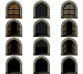 Bibliothèque des ressources VX Ace Tilesets __dungeon_of_sorrow_gate_by_nicnubill-d6qnag9