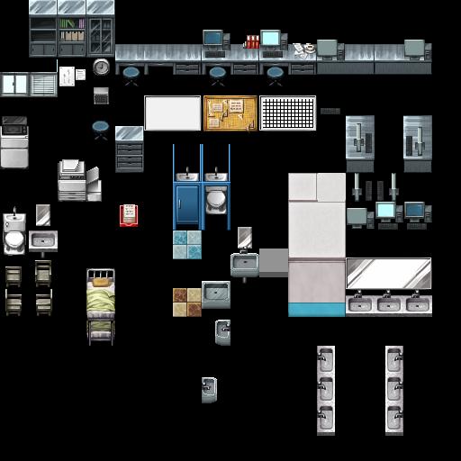 Rpg Locker Room Map