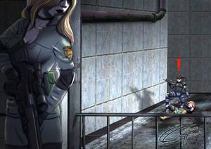 MGS - Sniper Wolf Boss Battle