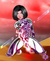 Gunnm LO - Red anger by Danaki