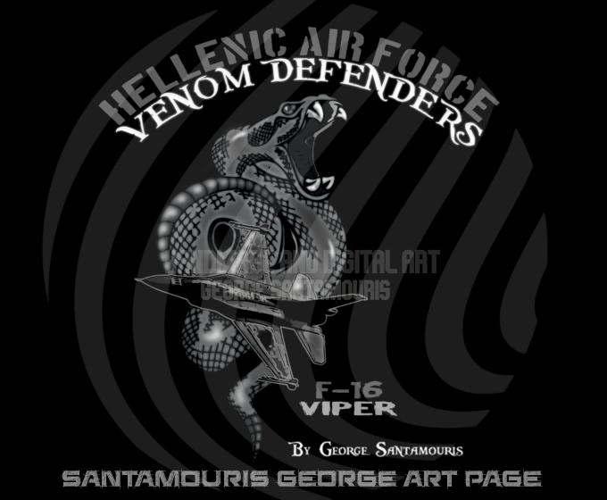 Haf F-16 Viper Venom Defenders by SANTAMOURIS1978