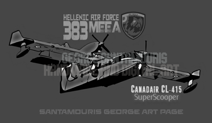 Haf Cl-415 383  Grey Comic by SANTAMOURIS1978