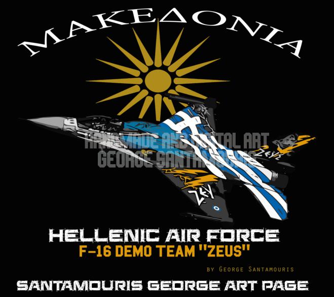 HAF F-16 DEMO TEAM ZEUS by SANTAMOURIS1978