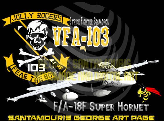 VFA-103 SUPER HORNET F/A-18F by SANTAMOURIS1978