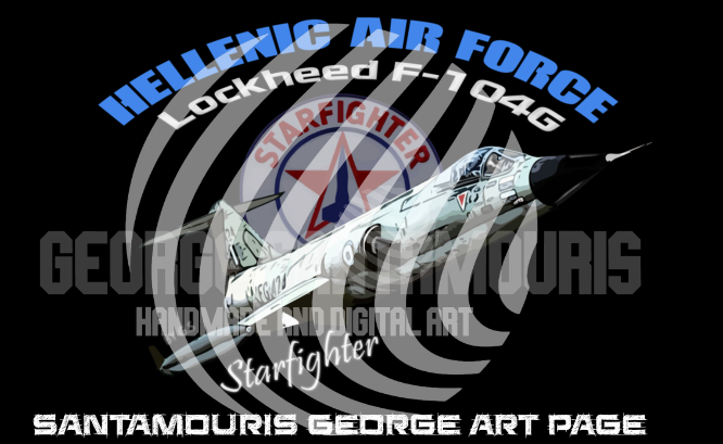 Haf F-104g Starfighter   by SANTAMOURIS1978
